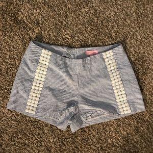 Seersucker Lilly Pulitzer shorts